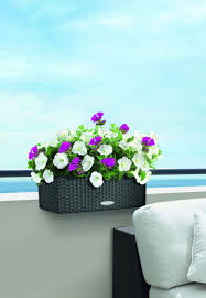 wicker window box balconera cottage planter 20