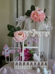 Shabby Chic Flower Arrangement by 2218 Best Birdcages Images On Pinterest Birdcage Decor Vintage
