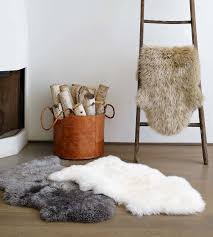 sheepskin area rug rugs ideas