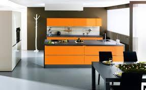 cuisine orange et noir déco cuisine orange et 75 roubaix 22002209 bain surprenant