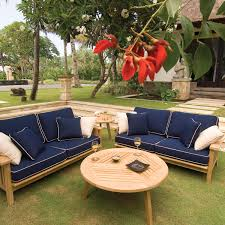outdoor sofa with 40 cushion options craftsman collection