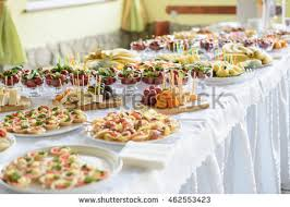 food tables at wedding reception catering banquet wedding table setting on stock photo royalty free