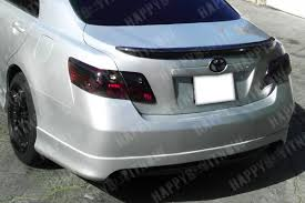 toyota camry spoiler ebay carbon rear spoiler installed toyota nation forum toyota
