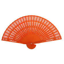 held fans for wedding japanese style vintage wood hollow carved folding foldable