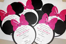 pink minnie mouse baby shower invitations wblqual com