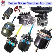 truck trailer spare parts brake system brake chamber with ts16949