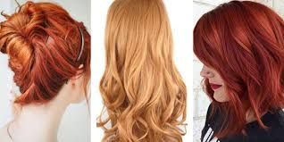 Shades Of Orange Colour The 21 Most Popular Red Hair Color Shades