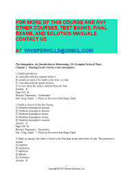 test bank for the atmosphere an introduction to meteorology 12th