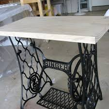 Old Kitchen Cabinet Makeover Singer Sewing Machine Cabinet Makeover To Hall Table Metals