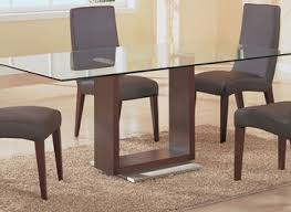 Glass Dining Room Table And Chairs Modern Glass Dining Room Table And Chairs Set Modern And Classic