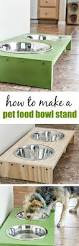 stop dog food bowls from sliding around the floor with this easy