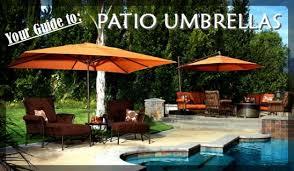 Patio Umbrella Wedge Your Guide To Patio Umbrellas Entertaining Design