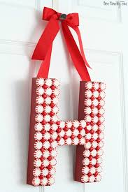 Christmas Decoration For Your Door by Diy Christmas Door Decoration Homemade Holiday Inspiration