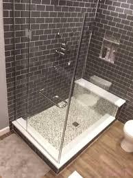 bathroom shower double sliding glass doors sliding door panels