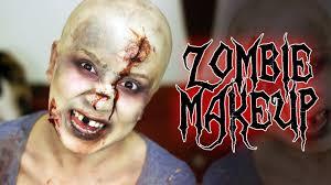 zombie the walking dead halloween makeup tutorial men u0026 women