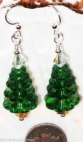 austrian swarovski tree earrings collection on ebay