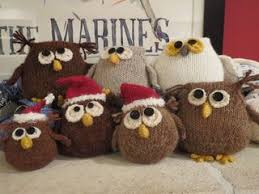 major knitter owls mini owls and micro owls