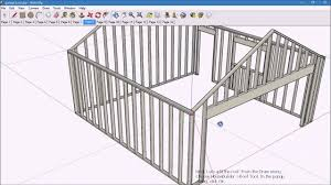 House Builder Tech Sketchup 8 And Housebuilder Plugin Youtube
