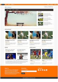 free responsive html templates free responsive magazine html templates on behance