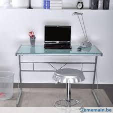 bureau 110 cm bureau 110 cm metal et verre avec mapmonde neuf prix a