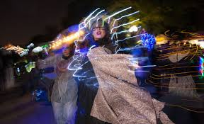 Halloween Costume With Lights by Halloween Lantern Parade Lights Up Patterson Park