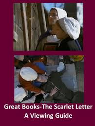 great books the scarlet letter a viewing guide by barraug books