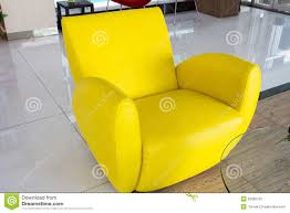 Yellow Chair Modern Yellow Chair Stock Photo Image 52680720