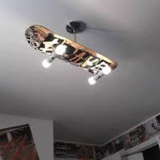 jugendzimmer skate repurposed skateboard wall sconces or ceiling lights skateboard
