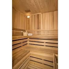 sauna glass doors amazon com aleko sti6hem 6 person hemlock indoor wet or dry
