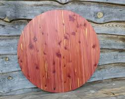 Cedar Table Top by Cedar Circles Etsy