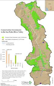 Arizona Rivers Map by San Pedro River Conservation Investments Map The Nature