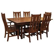 Mission Oak Dining Chairs Dining Sets Mission Dining Sets Oak Dining Sets Wood Dining Sets