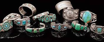 vintage silver turquoise bracelet images Vintage native american jewelry was often made from melted down coins jpg