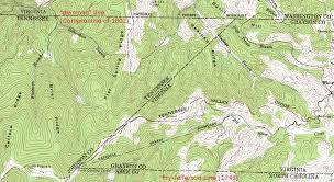 map of virginia and carolina virginia carolina boundary