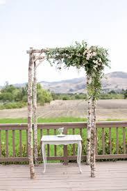 wedding arch greenery and grey memories wedding