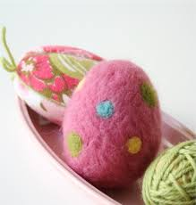 felted easter eggs how to needle felted easter egg my poppet makes