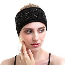 headband sport women knit headband sport wool headbands headwear