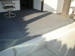 painting concrete patio floor