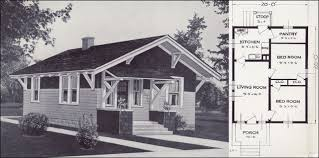small craftsman bungalow house plans the leo 1920s bungalow tiny 1923 craftsman style cottage from