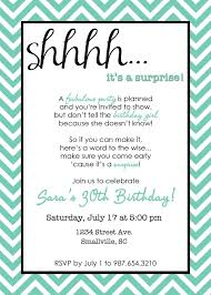birthday invites outstanding surprise birthday invitations ideas