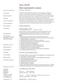 Senior Sales Executive Resume Samples Resume Sample For A Sales Executive In 21 Stunning Of And