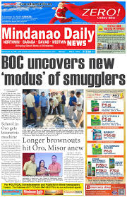 mindanao daily northmin march 7 2016 by dante sudaria issuu