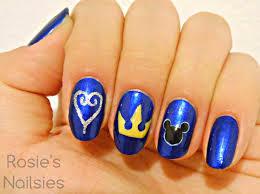 kingdom hearts nails google search fun pinterest anime