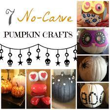 halloween pumpkin craft 7 no carve pumpkin crafts halloween week tbt from smb