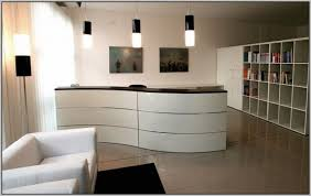 ikea reception desk ideas modern wave ikea reception desk using white color for lobby intended