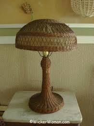 Wicker Table Lamp Antique Wicker Floor Lamp 149 00 After Much Tormenting About How