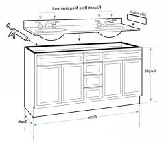 Standard Bathroom Vanity Sizes by Kitchen Cabinet Dimensions The New Kitchen Cabinet Rules With