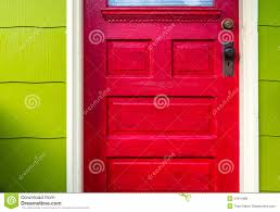 red door stock photo image 51811996