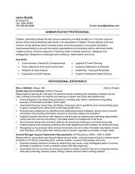 Resume Examples For Administrative Assistant by Download Administrative Resume Samples Haadyaooverbayresort Com