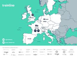 Europe Map With Countries by You Can Now Travel Europe With Trainline Europe Trainline Blog